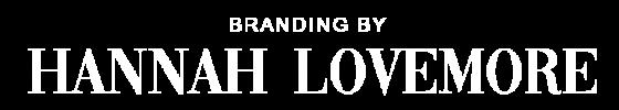 Branding by Hannah Lovemore